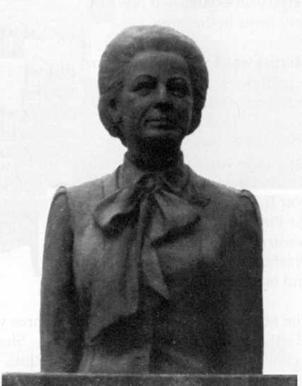 Bust of Martha Mitchell