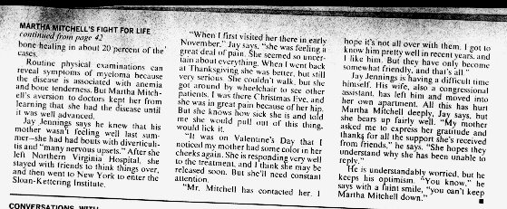 Martha Mitchell's Fight for Life Page 3